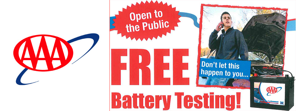 Free Battery Testing at AAA Lyndhurst - October 18th 2018 - City of Lyndhurst, Ohio