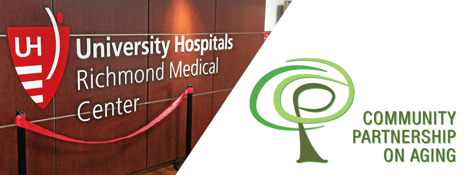Community Partnership on Aging and UH Richmond Medical Center Invite You to a Day of Free Health Screenings - June 18th 2019 - City of Lyndhurst, Ohio
