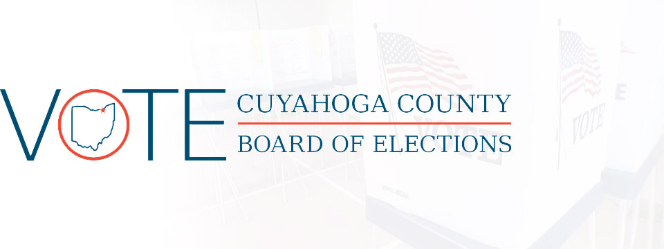 Cuyahoga County Board of Elections logo.
