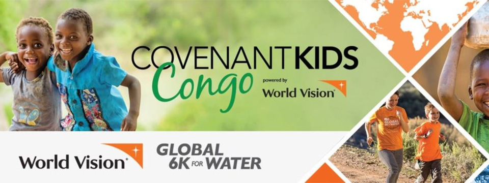 Global 6K for Water banner by World Vision.