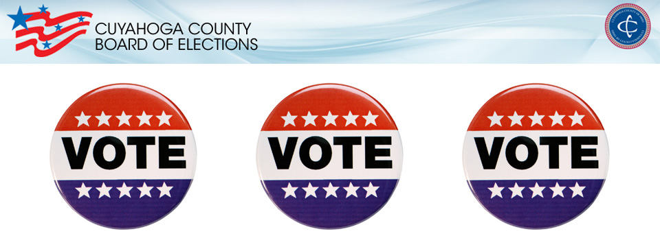 November 6th 2018 General Election Information - Cuyahoga County Board of Elections - City of Lyndhurst, Ohio