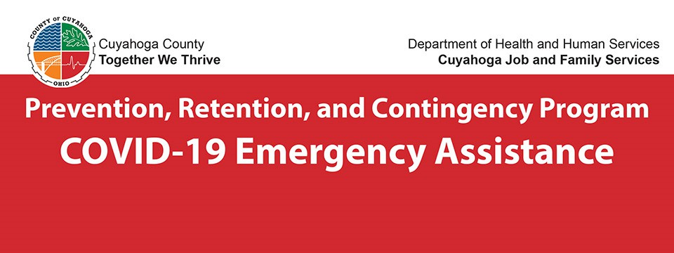 Cuyahoga County Prevention, Retention, and Contingency (PRC) Program COVID-19 Emergency Assistance