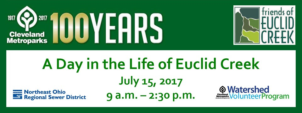4th Annual 'Day in the Life of Euclid Creek' Event
