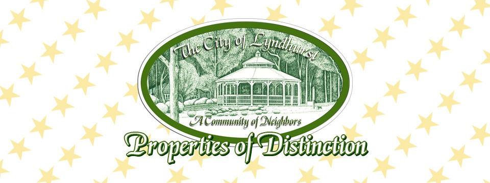 City of Lyndhurst, Ohio July 2020 Properties of Distinction
