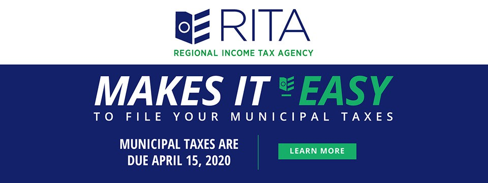 RITA Makes It Easy To File Your Municipal Taxes. Complete Information and Links