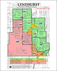 2018 Voting Map - City of Lyndhurst, Ohio