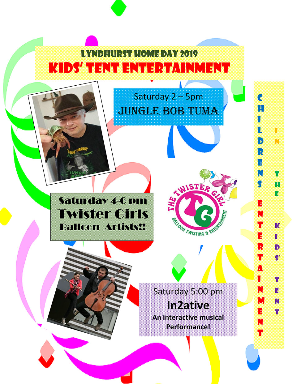 2019 Lyndhurst Home Day Celebration - Entertainment Lineup! - September 6th, 7th, and 8th 2019 - City of Lyndhurst, Ohio