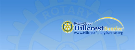 Rotary Club of Hillcrest Sunrise